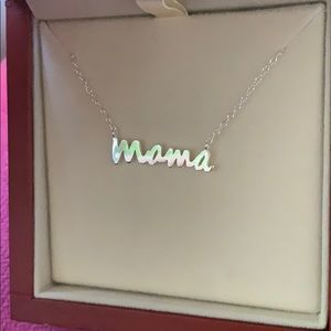 Argento Vivo Sterling Silver Mama necklace